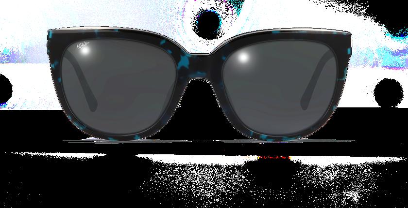 Lunettes de soleil femme MYLENE écaille - vue de face