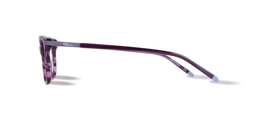 Óculos graduados senhora MEDICIS violeta - Vista lateral