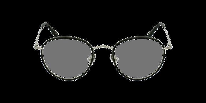 Óculos graduados SHUBERT BK prateado/preto