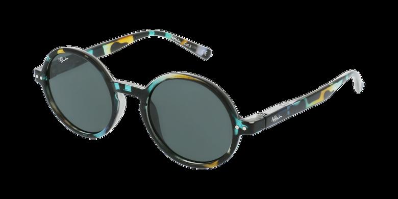 Óculos de sol criança COMO TOGR tartaruga/verde