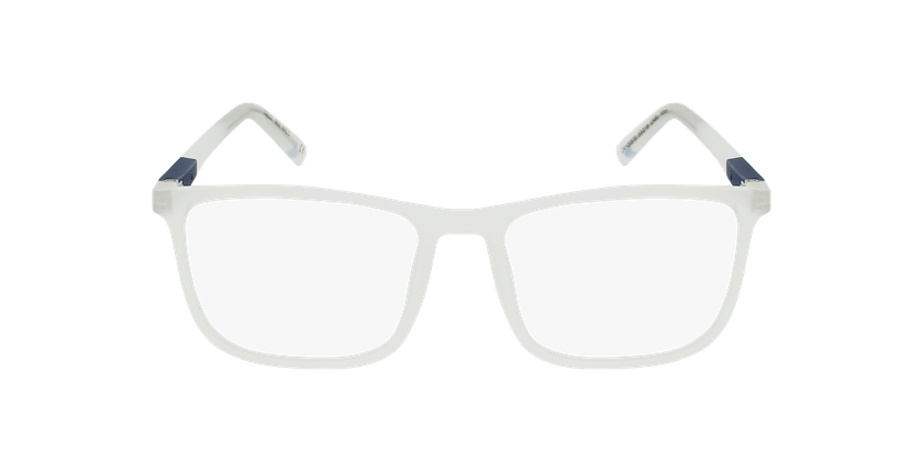 Lunettes de vue homme MALO bleu/bleu - Vue de face