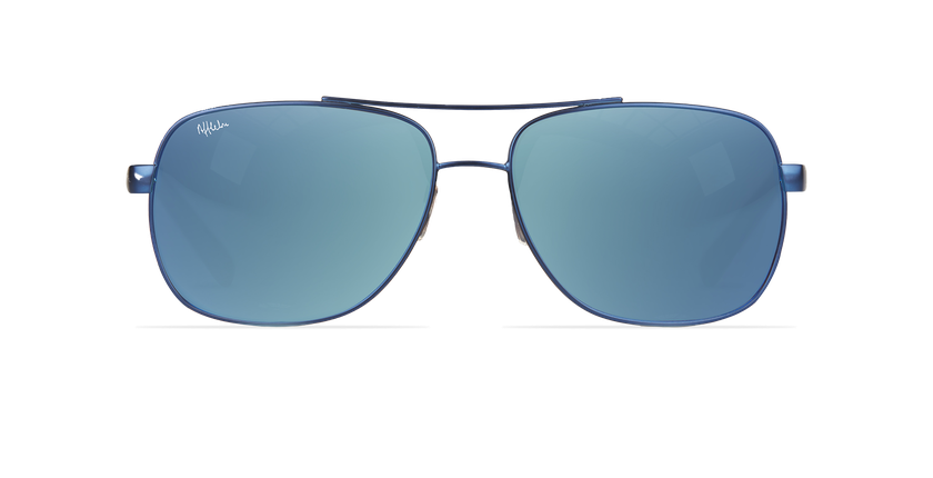 Lunettes de soleil homme CRUZEIRO bleu - Vue de face