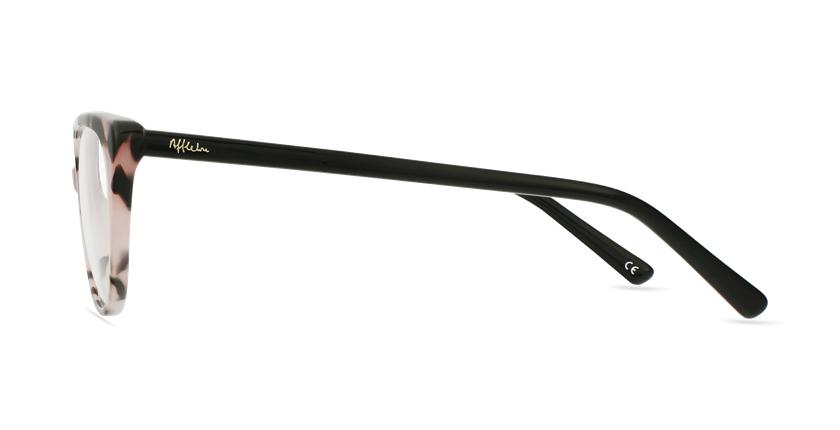 Óculos graduados senhora BERTILLE PK (TCHIN-TCHIN +1€) rosa - Vista lateral