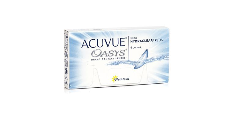 Lentilles de contact Acuvue Oasys with Hydraclear Plus 6L