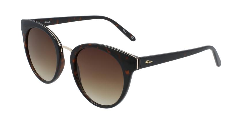 Óculos de sol senhora MAUD TO01 tartaruga  - vue de 3/4