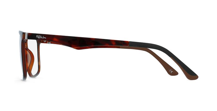 Óculos graduados homem MAGIC 38 BLUEBLOCK - BLOQUEIO LUZ AZUL tartaruga  - Vista lateral