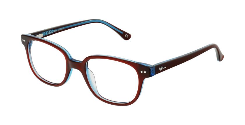 Óculos graduados criança MARCEL RDBL (TCHIN-TCHIN +1€) vermelho/azul - vue de 3/4