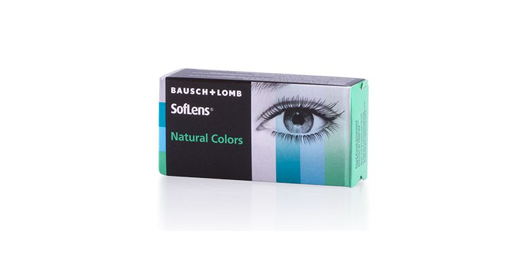 Lentilles de contact SOFLENS NATURAL COLORS