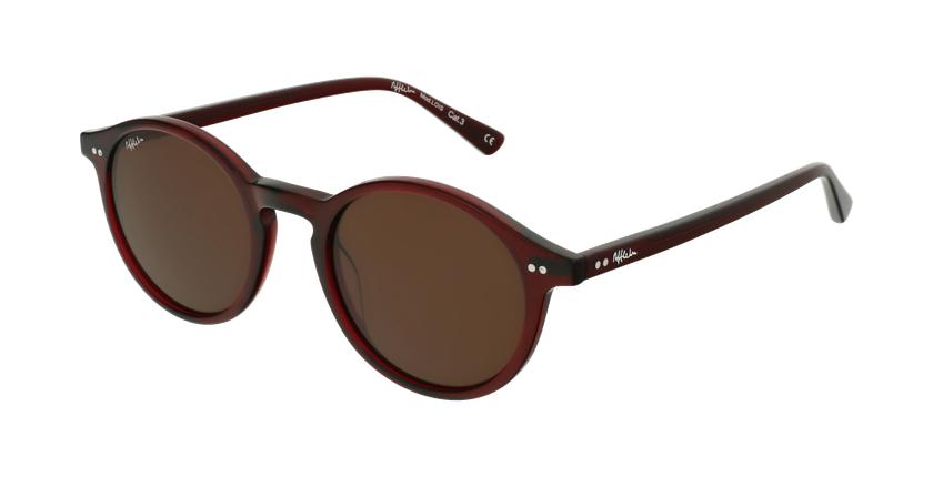 Óculos de sol LOIS RD vermelho/vermelho - vue de 3/4