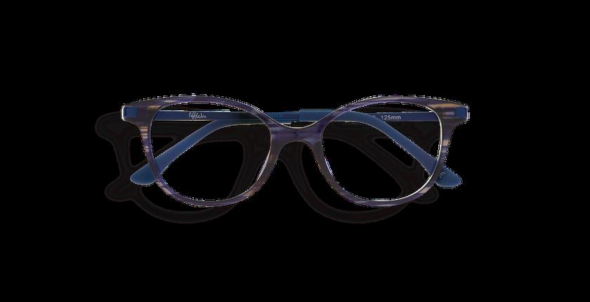 dc556b8d4 ... Óculos graduados criança MAGIC 31 BL01 azul - Vista de frente ...