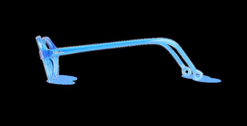 Lunettes de vue enfant MAEL bleu - vue de côté