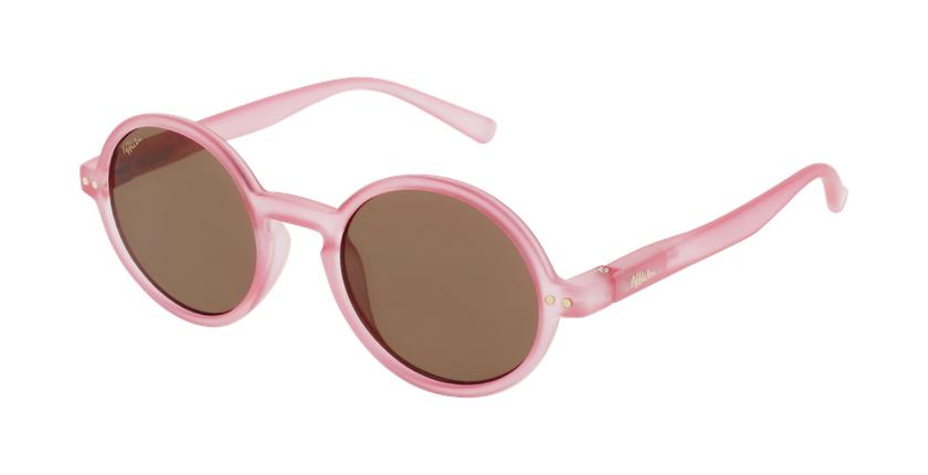 Óculos de sol criança COMO PK rosa - vue de 3/4