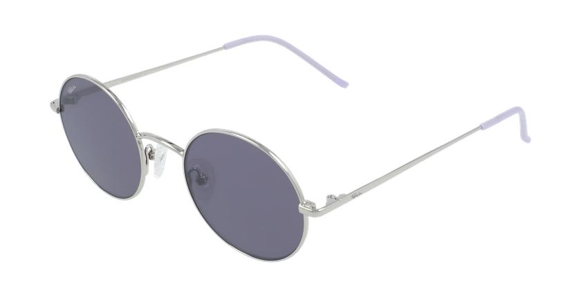 Óculos de sol MOSTOLES SL prateado/violeta - vue de 3/4
