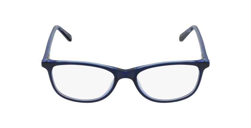 Lunettes de vue femme SOLINE bleu - Vue de face
