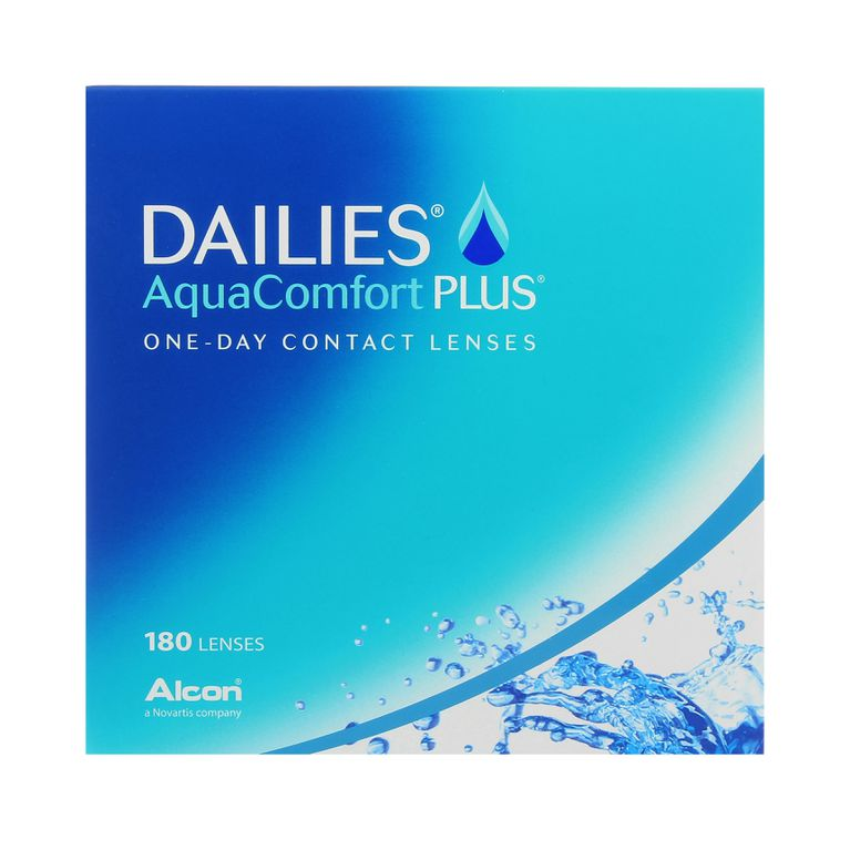 Lentilles de contact Dailies AquaComfort Plus 180L