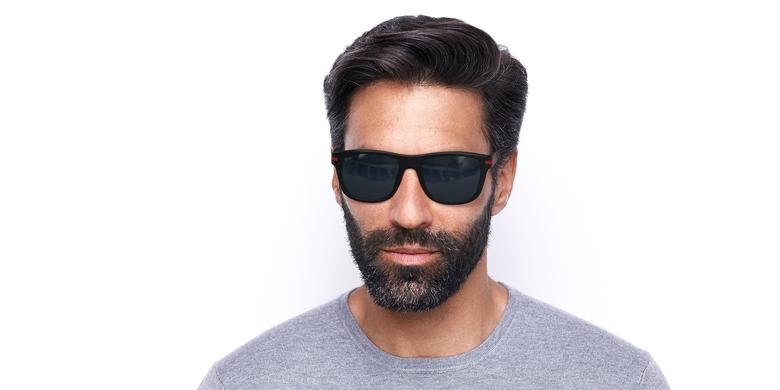 Óculos de sol homem DIEGO preto