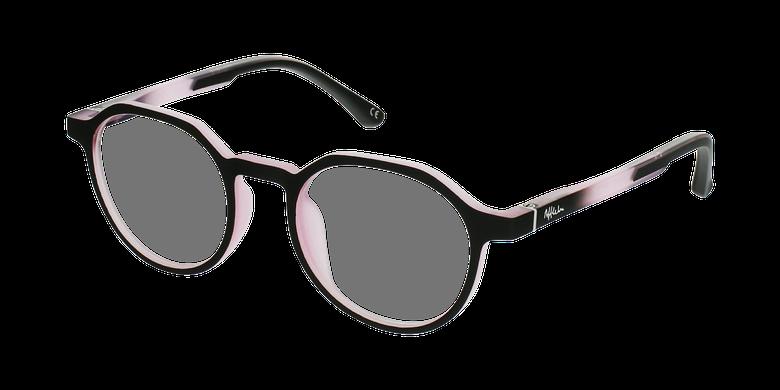 Óculos graduados criança MAGIC 77 BK - ECO FRIENDLY preto/rosavue de 3/4