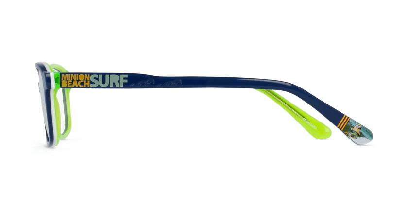 Óculos graduados criança SURF_MINIMOS azul/verde - Vista lateral