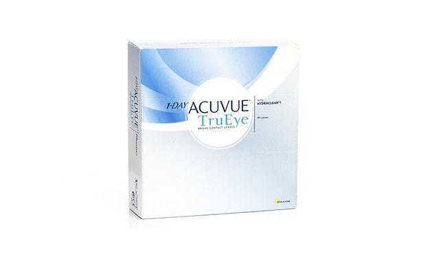 Lentilles de contact 1 Day Acuvue® TruEye 90L - Vue de face