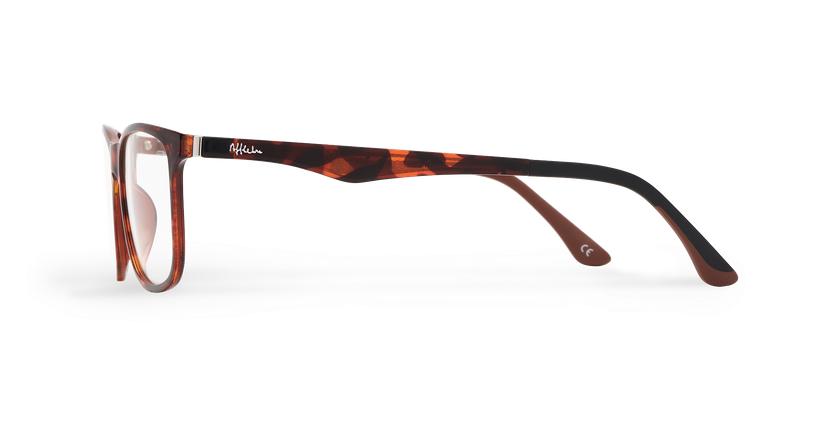 Óculos graduados homem MAGIC 24 TO BLUEBLOCK - BLOQUEIO LUZ AZUL tartaruga  - Vista lateral