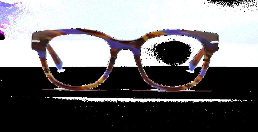 Lunettes de vue femme OAKWOOD violet - Vue de face