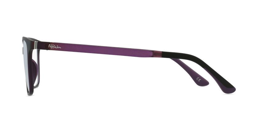 Lunettes de vue femme MAGIC 60 BLUEBLOCK violet - Vue de côté