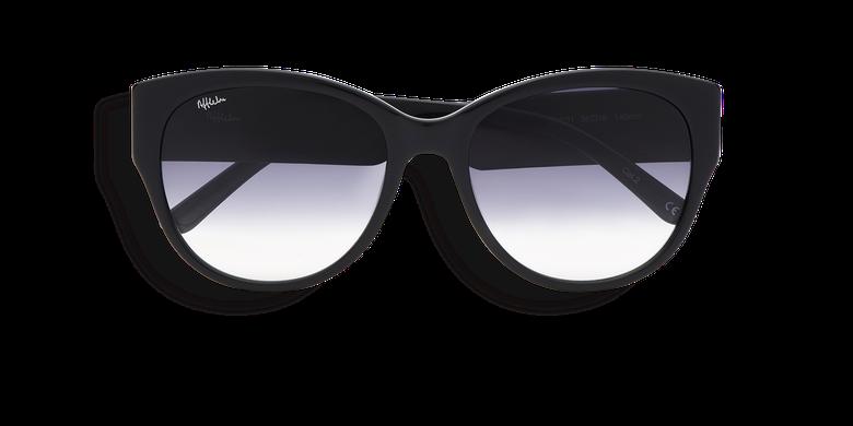Lunettes de soleil femme CLAUDIA noir