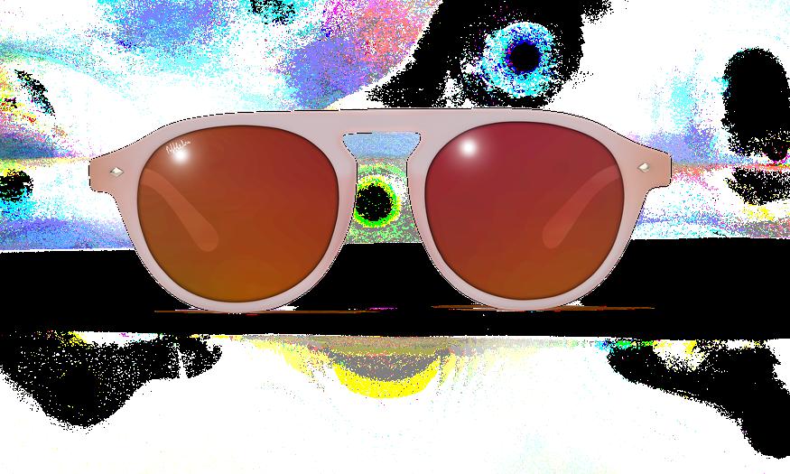 Lunettes de soleil femme ACAPULCO rose