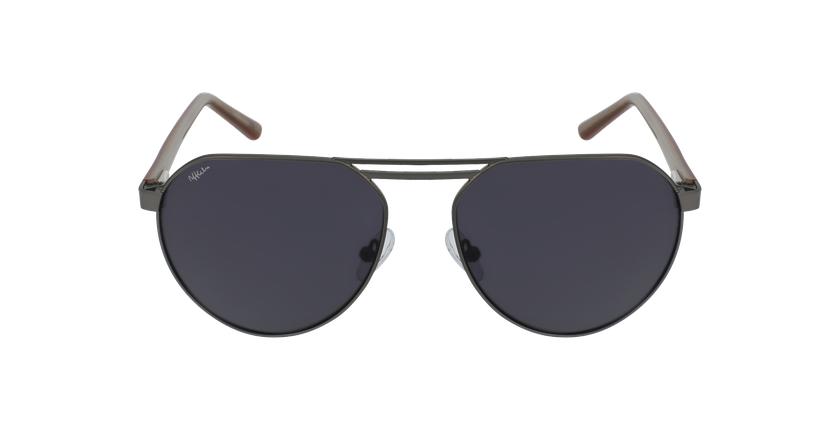 Óculos de sol homem ALVIN GU cinzento - Vista de frente