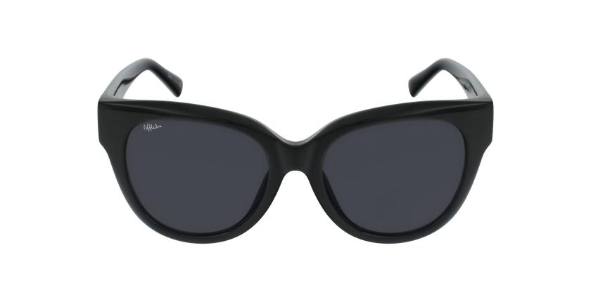 Óculos de sol senhora BRITANY BK preto - Vista de frente