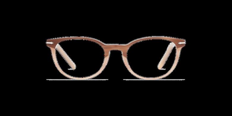 Óculos graduados senhora NANTUA castanho