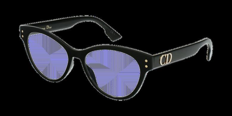 Lunettes de vue femme DIORCD4 noir