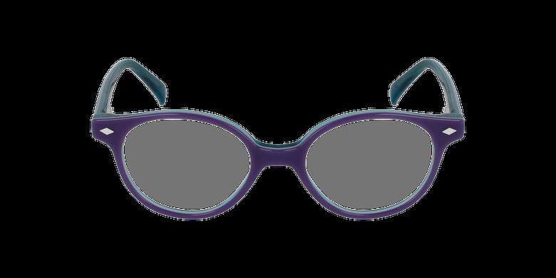Óculos graduados criança ILONA PU (TCHIN-TCHIN +1€) violeta/turquesa