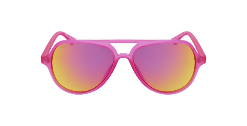 Óculos de sol criança RONDA PK rosa - Vista de frente