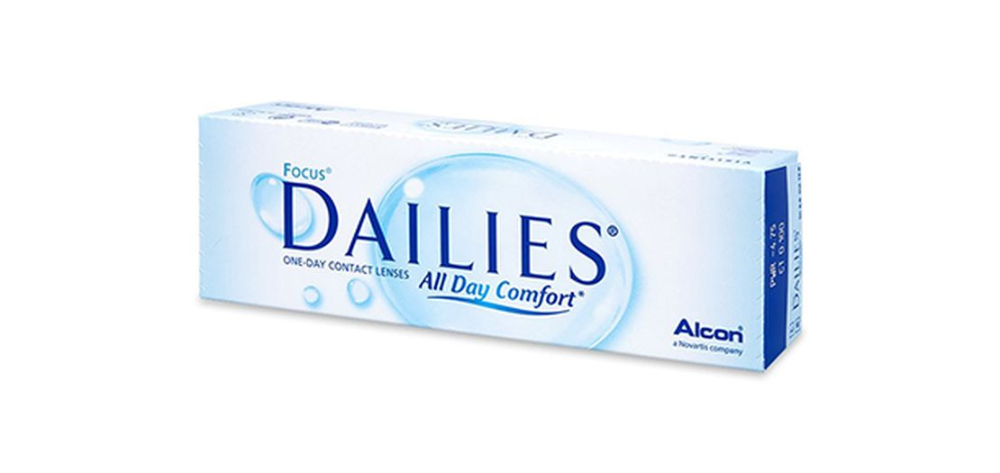 Lentes de contacto Dailies All Day Comfort 30L