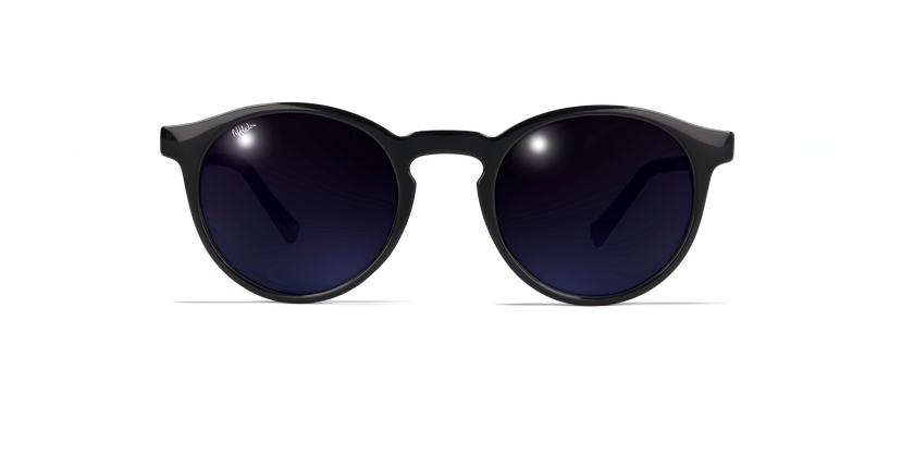 Gafas de sol mujer CARMEN negro - vista de frente