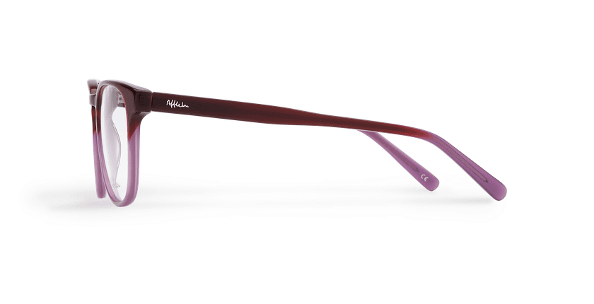 Lunettes de vue homme BLAISE violet - Vue de côté