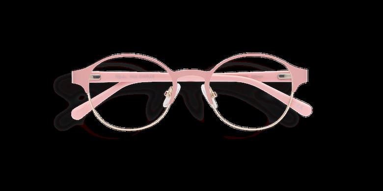 Gafas graduadas mujer CAMILLE rosa/dorado
