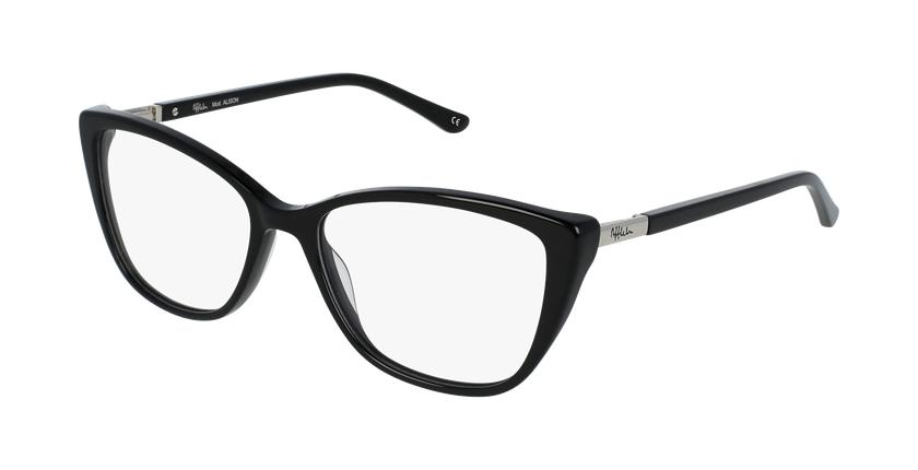 Óculos graduados senhora Alison bk(Tchin-Tchin +1€) preto - vue de 3/4