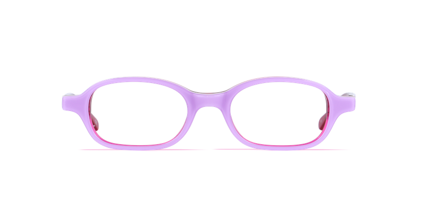 Lunettes de vue enfant JIM violet - vue de face