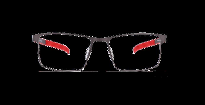 Lunettes de vue homme ANDRE gris - vue de face