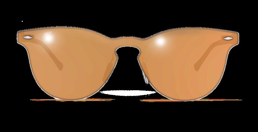 Lunettes de soleil femme COSMOS2 orange - Vue de face