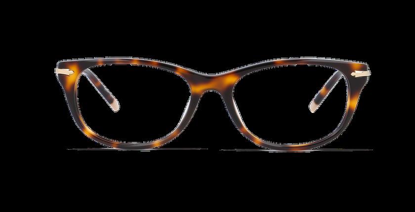 Gafas graduadas mujer TRALEE carey - vista de frente