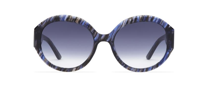 Óculos de sol senhora NAOMIE BL azul - Vista de frente