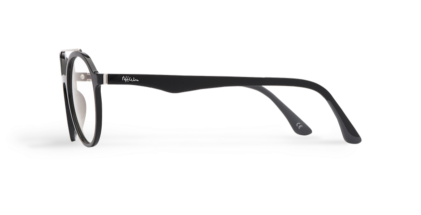 84c9dcace Óculos graduados MAGIC 26 BK01 preto - Vista lateral ...