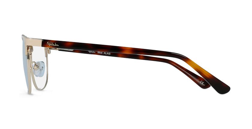 Óculos graduados senhora ALAIS BG (TCHIN-TCHIN +1€) bege - Vista lateral