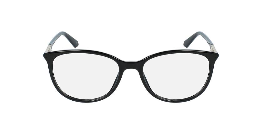 Óculos graduados senhora ALEXA BK (TCHIN-TCHIN +1€) preto - Vista de frente