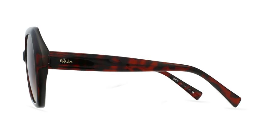 Óculos de sol senhora FAURA TO tartaruga  - Vista lateral