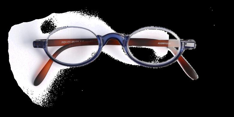 Óculos graduados FO1 azul/tartaruga
