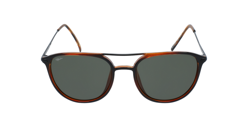 Óculos de sol homem SALCEDO TO tartaruga  - Vista de frente